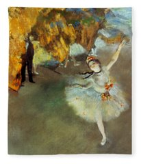 Degas Star, 1876-77. To License For Professional Use Visit Granger.com Fleece Blanket