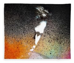 Deliberation  Fleece Blanket