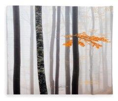 Delicate Forest Fleece Blanket