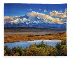 Denali, The High One Fleece Blanket