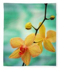 Orchid Fleece Blankets