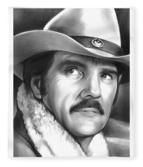 Dennis Weaver Fleece Blanket