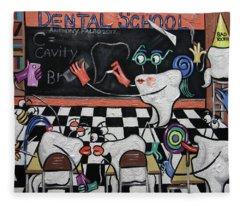 Dental School Fleece Blanket