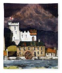 Deridelsford Castle Bray 1259ad Fleece Blanket