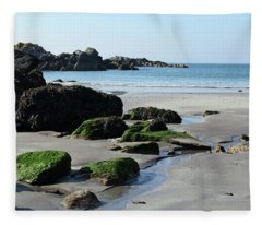 Derrynane Beach Fleece Blanket