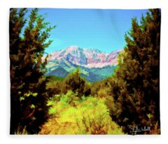 Deseret Peak Fleece Blanket