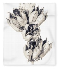 Desert Flower Fleece Blanket
