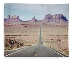 Desert Icons Fleece Blanket
