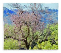 Desert Ironwood Beauty Fleece Blanket