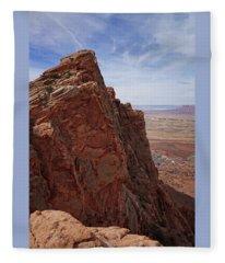 Desert Magnificence Fleece Blanket