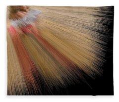 Desert Salmon Fisher Angel Fleece Blanket