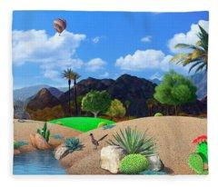 Desert Splendor Fleece Blanket