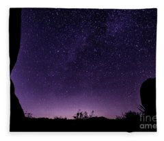 Desert Starscape Fleece Blanket