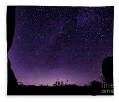 Desert Starscape Fleece Blanket