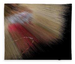 Desert Strawberry Hunter Angel Fleece Blanket