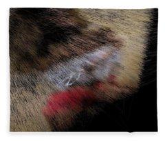 Desert Strawberry Hunter Fleece Blanket
