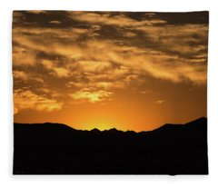 Desert Sunrise Fleece Blanket