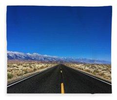 Desert To The Mountains Fleece Blanket