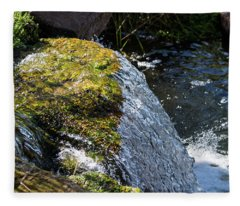Desert Waterfall Fleece Blanket