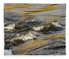 Desert Waves Fleece Blanket
