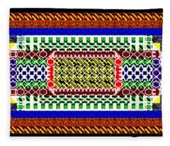 Design1d_16022018 Fleece Blanket
