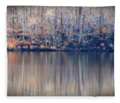 Desolate Splendor Fleece Blanket