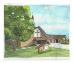 De Soto Baptist Church Fleece Blanket