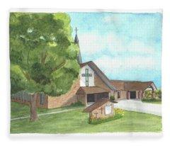 De Soto Baptist Church Fleece Blanket