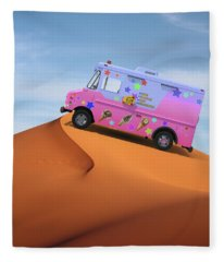 Dessert Mirage Fleece Blanket