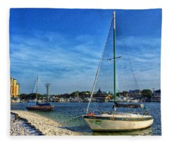 Destin Florida Fleece Blanket