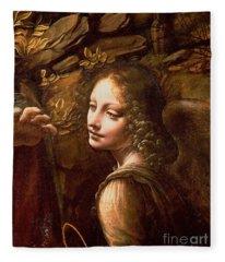 Leonardo Davinci Fleece Blankets