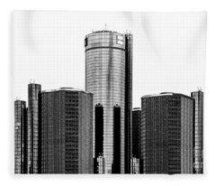 Detroit Rencen Fleece Blanket