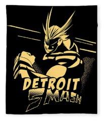 Detroit Smash Fleece Blanket