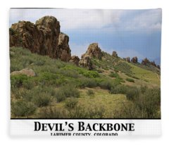Devil's Backbone Fleece Blanket