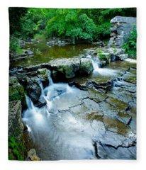 Devils River 1 Fleece Blanket