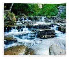 Devils River 2 Fleece Blanket
