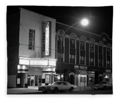 Devon Theatre, 1979 Fleece Blanket