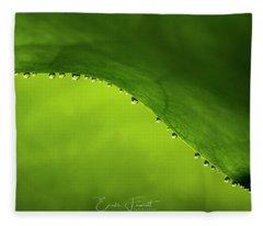 Dew Drops Fleece Blanket