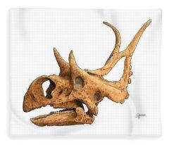 Diabloceratops Fleece Blanket