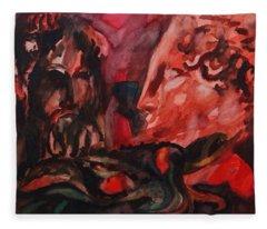 Dialogo Silenzioso Fleece Blanket