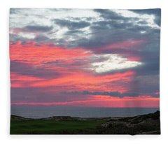 Diamante Sunset Fleece Blanket