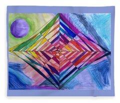 Diamond Web Fleece Blanket