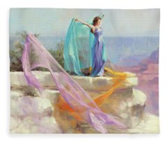 Diaphanous Fleece Blanket
