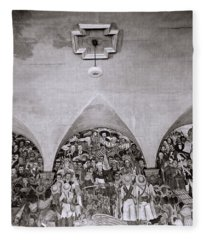 Diego Rivera Fleece Blanket