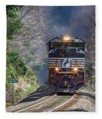 Diesel Engine Ns 2722 Fleece Blanket
