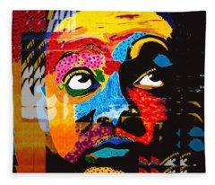 Digital Wynton Marsalis Fleece Blanket