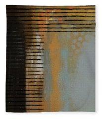Dimensional Lines Fleece Blanket