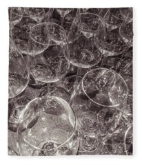Fleece Blanket featuring the photograph Dinner Preparations by Alex Lapidus