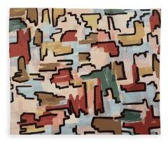 Dino Pattern Fleece Blanket