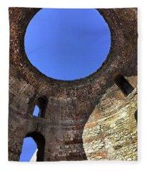 Diocletian Palace In Split, Croatia  Fleece Blanket